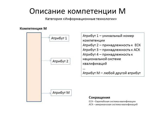 подкатегория компетенция