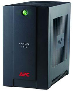 Источник бесперебойного питания APC Back-UPS 650 на данный момент самый мощный в линейке. Он снабжен как стабилизатором напряжения, так и евророзетками.