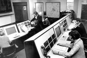 Police contact centre 1970