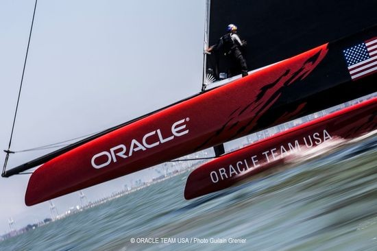 парусная команда Oracle Team