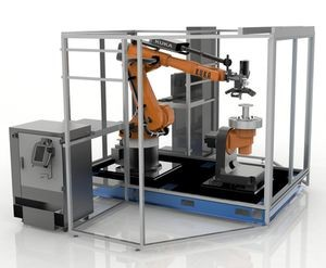 Robotic Composite 3D Demonstrator