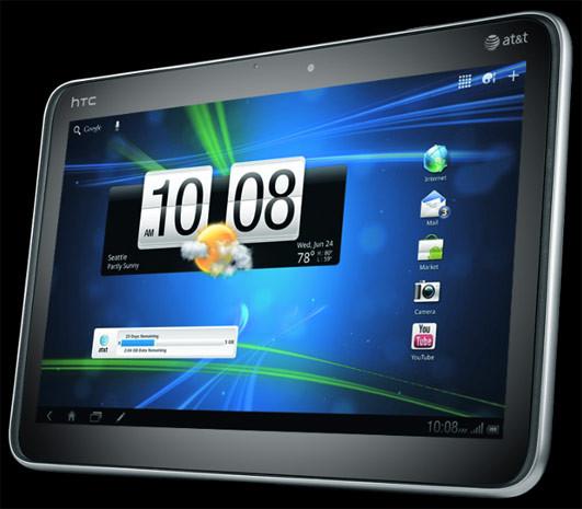 10-дюймовый планшет HTC Jetstream шокировал всех своей ценой
