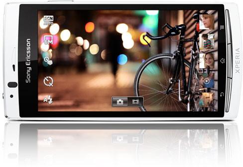 Sony Ericsson Xperia Arc S - новинка с небольшими улучшениями