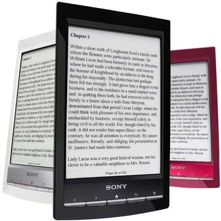 Sony Reader Wi-Fi – самый легкий ридер с мультисенсорным экраном