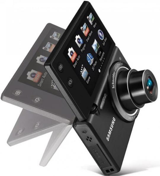 Компания Samsung представила три новые цифровые камеры