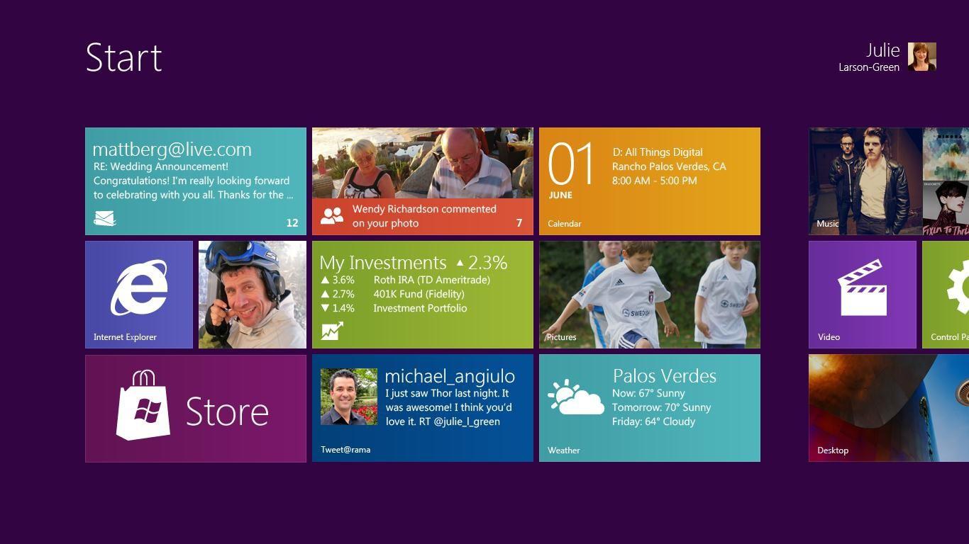 В Windows 8 традиционный рабочий стол станет обычным приложением