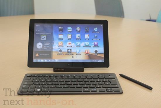 Новый планшет Samsung Series 7 Slate PC на базе Windows 7