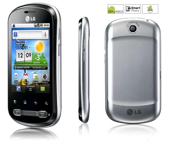 Блиц-обзор LG Optimus Me P350