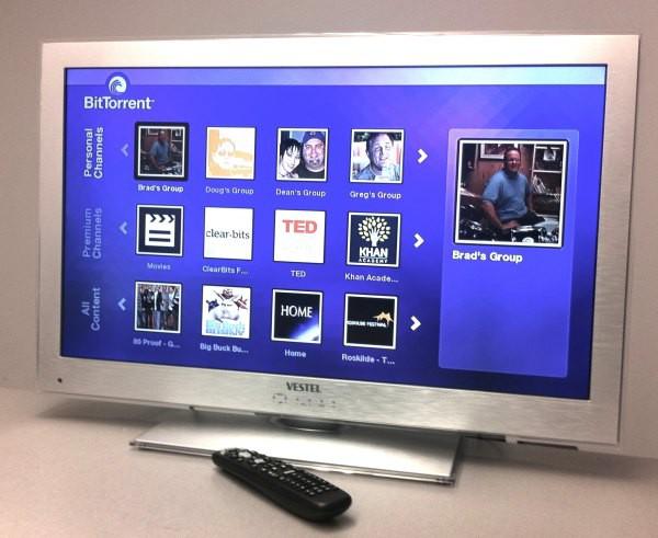Первый телевизор, сертифицированный BitTorrent