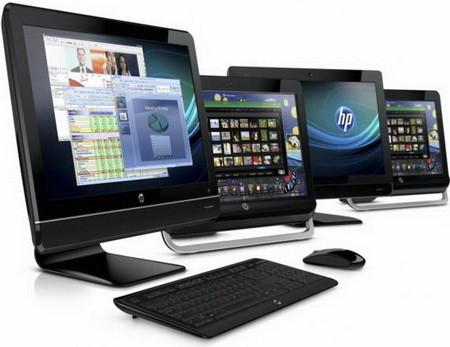 Много-много моноблоков от HP