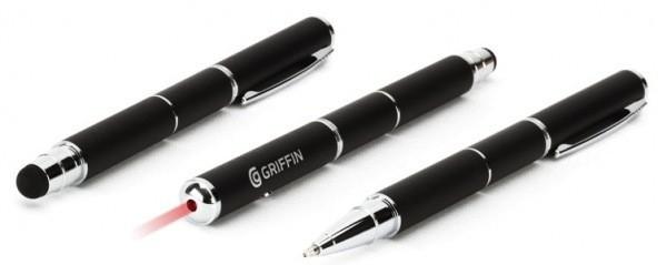 Griffin анонсировала «стилус + ручку + лазерную указку»