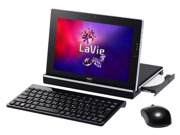 NEC представляет планшет LaVie Touch LT550/FS с 10.1-дюймовым IPS-экраном, работающий на Windows