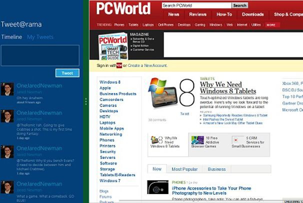 Новую версию Windows 8 показали разработчикам