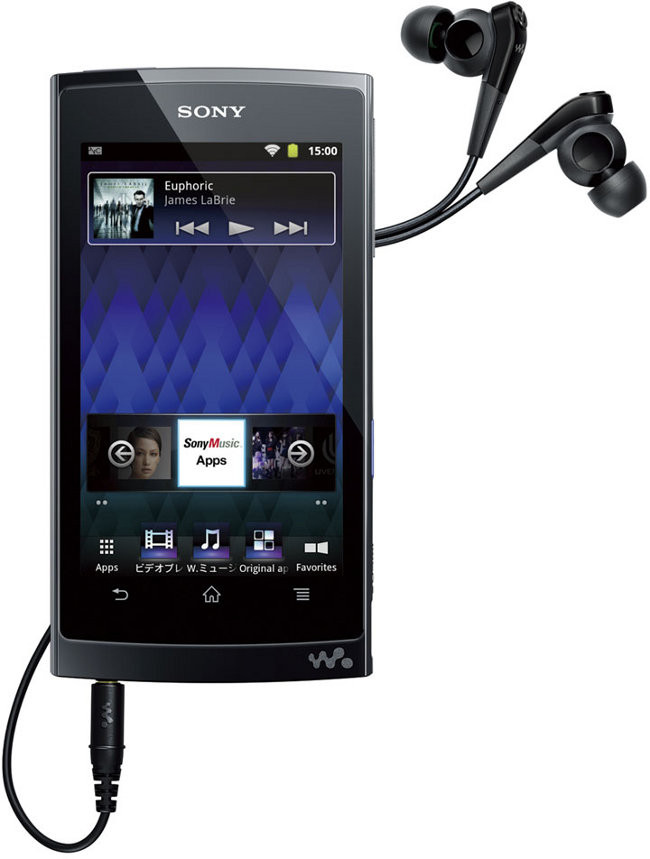 Sony Walkman Z1000 - плеер на Android 2.3