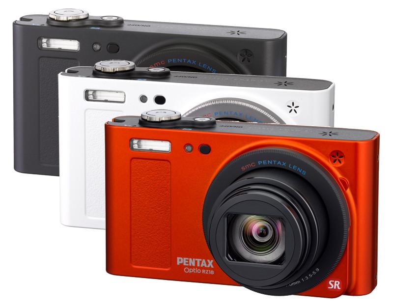 Pentax Optio RZ18 - яркая компактная камера