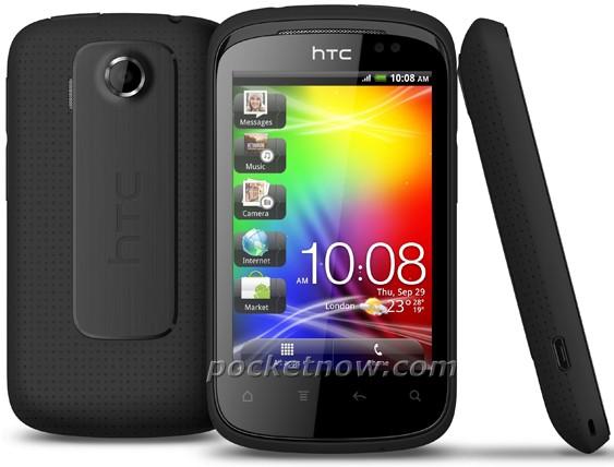 HTC Explorer замечен на фото