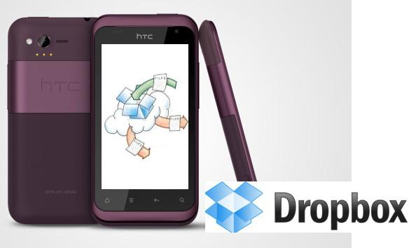 HTC сотрудничает с Dropbox - всем по 5 Гб в