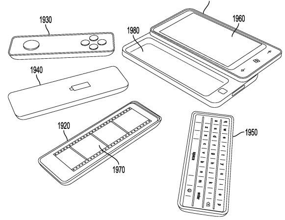 В Microsoft придумали телефон с множеством сменных аксессуаров