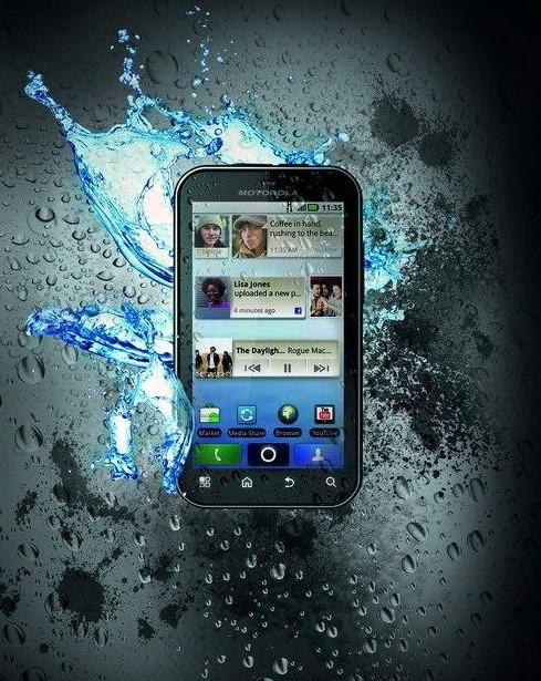 Блиц-обзор Motorola Defy - крепкий малый