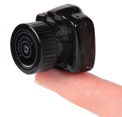 Самая маленькая камера в мире вышла в продажу
