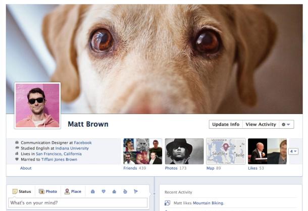 Пять интересных функций в обновленном Facebook