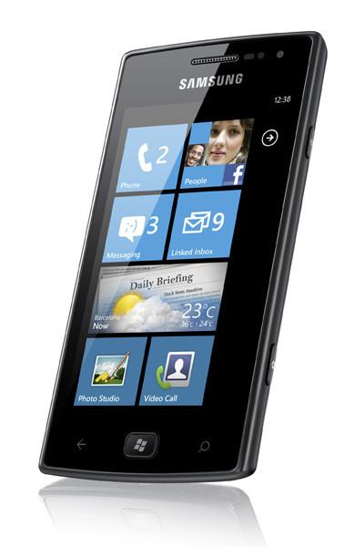 Samsung Omnia W – доступный смартфон на платформе Windows Phone Mango