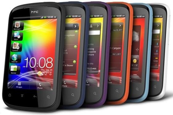 HTC Explorer - новый доступный смартфон