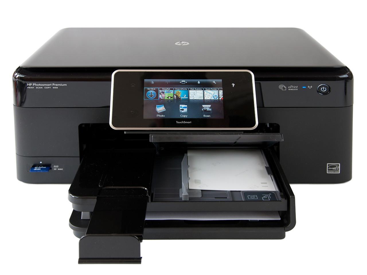 Блиц-обзор HP Photosmart Premium C310 - самое продвинутое МФУ