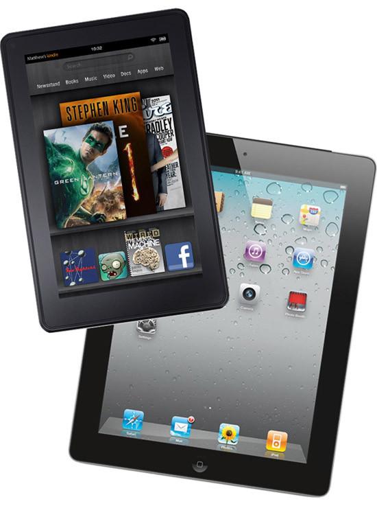 Kindle Fire против iPad
