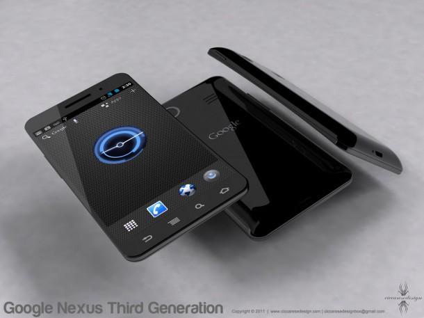 Как мог бы выглядеть Google Nexus Prime