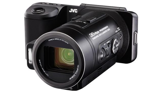 JVC GC-PX10 – гибридная камера для съемки фото и видео