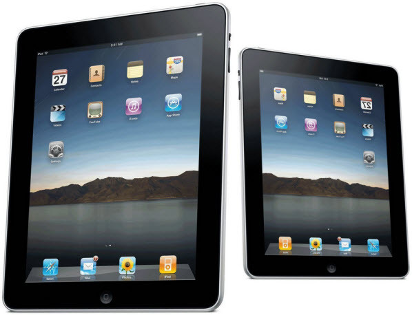Apple заказала 7.85-дюймовые дисплеи для iPad Mini у LG Display и AU Optronics