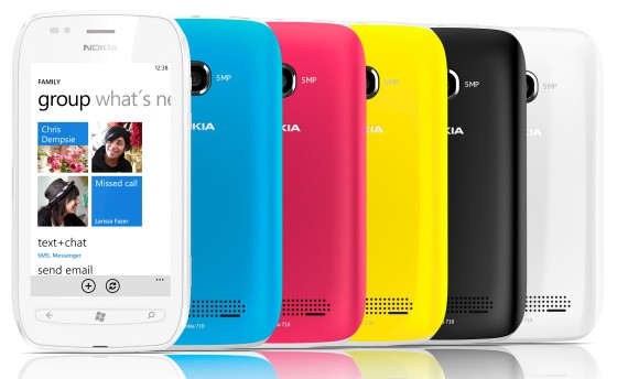 Nokia Lumia 710 - бюджетный смартфон на базе Windows Phone 7