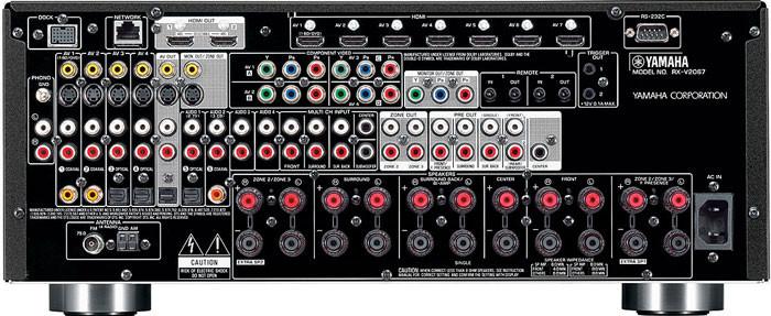 WHF-обзор: Yamaha RX-V2067 - cтильный и мощный AV-ресивер