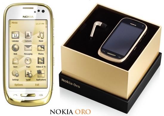 Stuff-обзор: Nokia Oro - золотой слиток