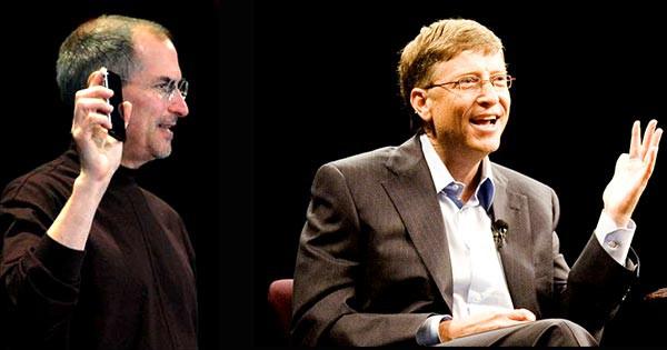 Билл Гейтс не обижается на комментарии Стива Джобса