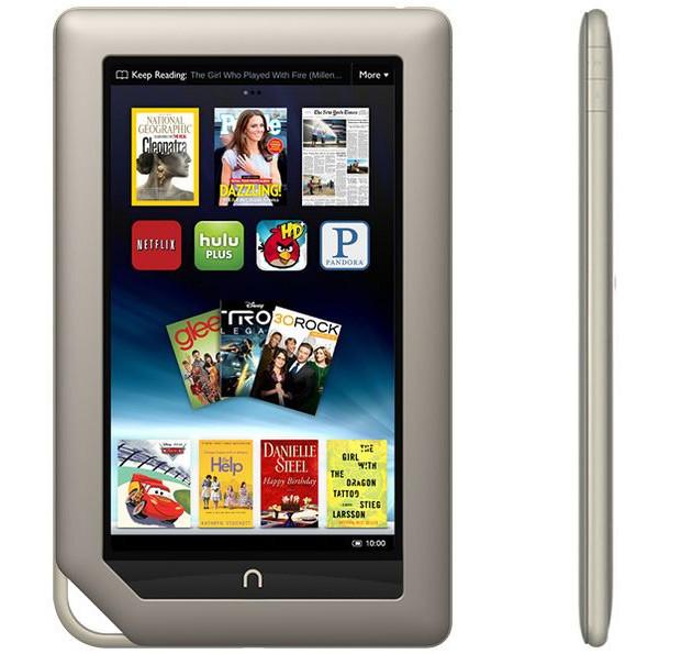 Nook Tablet - конкурент для Kindle Fire