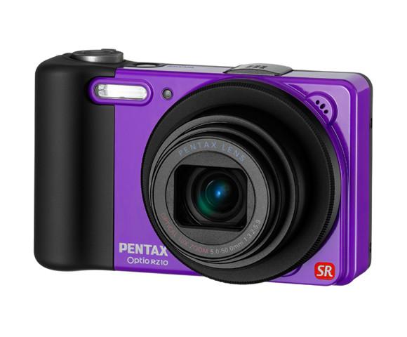 Pentax Optio RZ10 - яркий и удобный