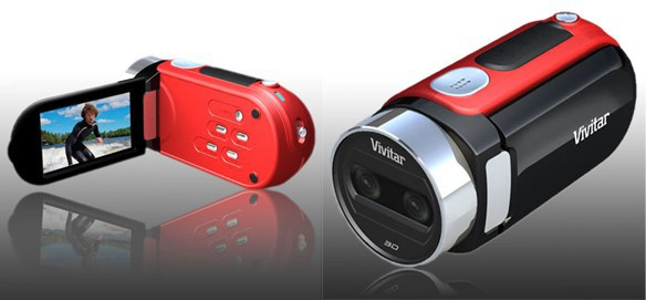 Vivitar DVR 790HD – миниатюрный и недорогой камкордер с записью 3D
