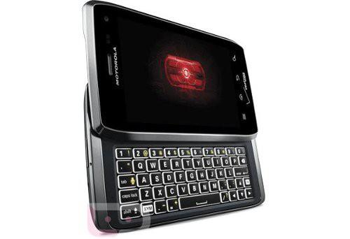 Изображения Motorola DROID 4 с выдвижной QWERTY попали в сеть