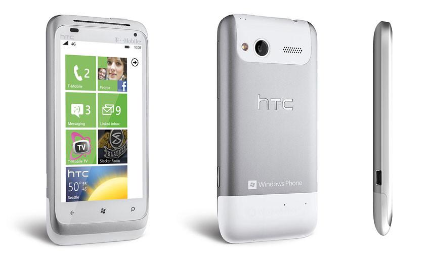 Знакомство с HTC Radar - курс на WP7