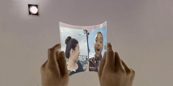 «Прозрачное» будущее гибких планшетов Samsung