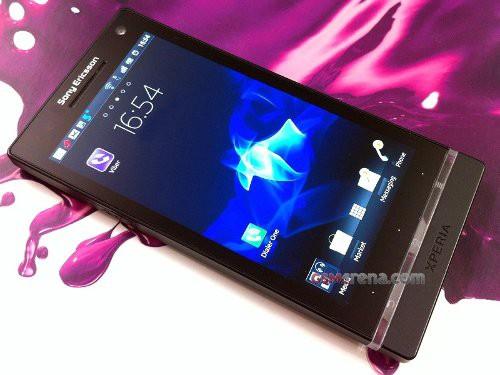 Sony Ericsson Arc HD aka Nozomi - красивые
