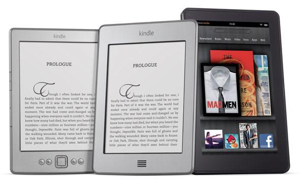 Amazon продает около миллиона устройств Kindle в неделю