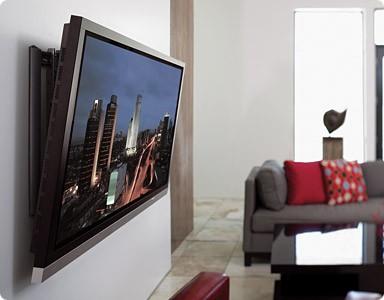 Как установить телевизор на стену?
