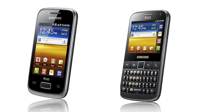Анонсированы Samsung Galaxy Y Duos и Pro Duos с двумя слотами для SIM-карт