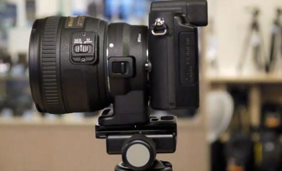 Адаптер для компактных камер Nikon 1 позволяет устанавливать на них объективы от зеркалок