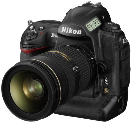 Новая «зеркалка» топ-класса Nikon D4