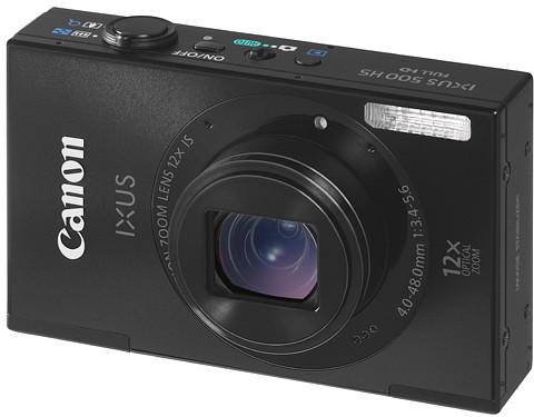 Canon представила пару компактов IXUS