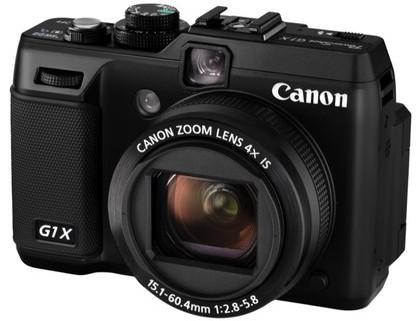 Canon PowerShot G1 X – компактная камера с 14.3 Мп сенсором